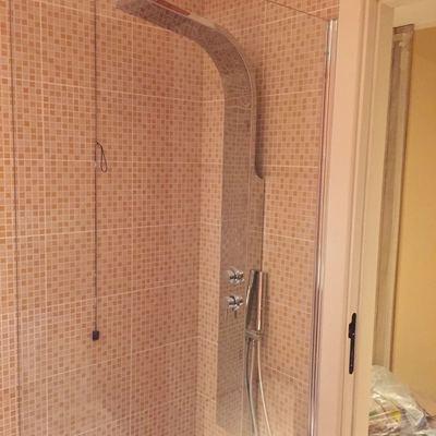 Trasformazione da vasca a doccia lavoro finito