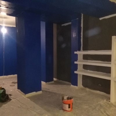 pittura stanza
