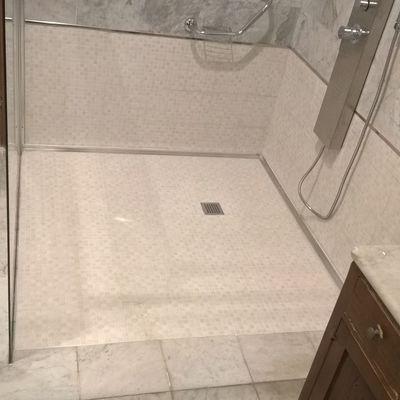 Piatto doccia filopavimento