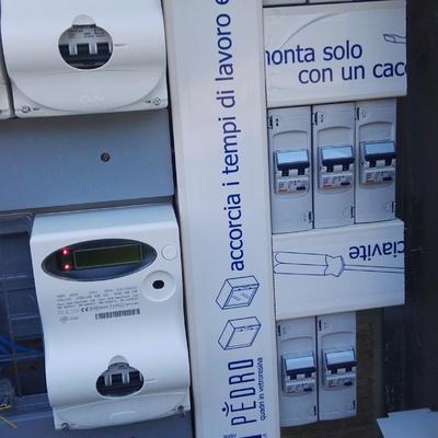 Distribuzione elttrica con salvavita per condominio