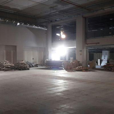 """Sgombero """"OVVIO"""" Centro Commerciale ROMA EST"""