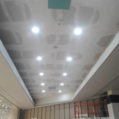 Impianti di illuminazione e cartongesso orio center