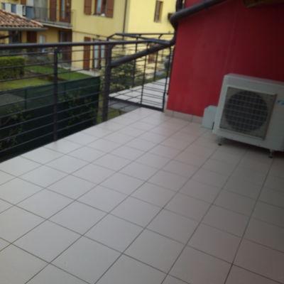 pulizia terrazzo