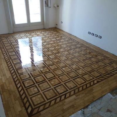 Levigatura pavimento in legno