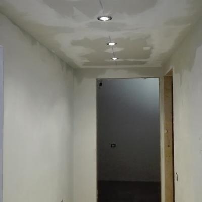 corridoio in cartongesso