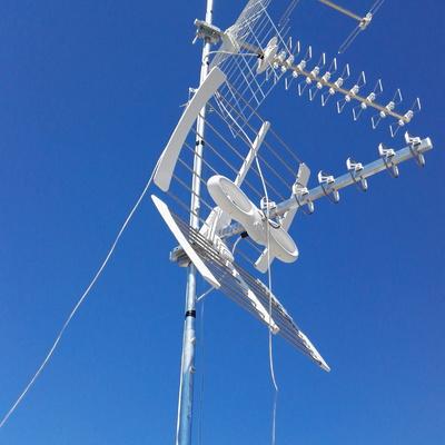 Antenna ricezione tv digitale terrestre