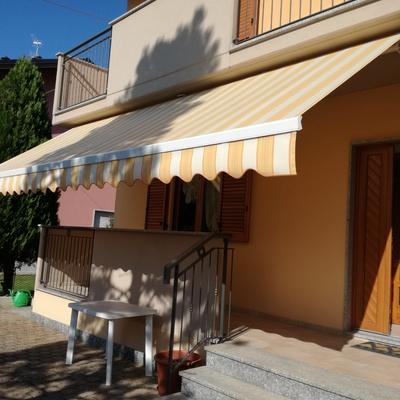 tenda in barra quadra 700 x 200