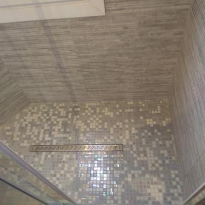 Piatto doccia in muratura