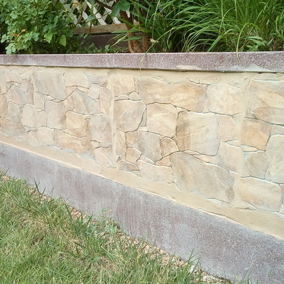 Rivestimento esterno con pietre antiche