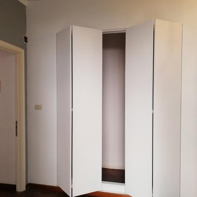 Cabina armadio - apertura libro