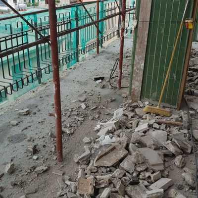 demolizione balconi
