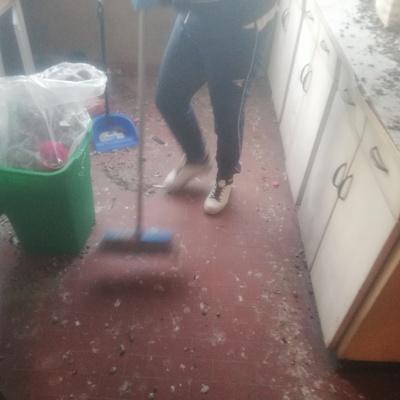 Prima della pulizia