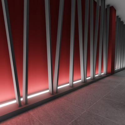 Corridoio strip led www.salvatoresito.it