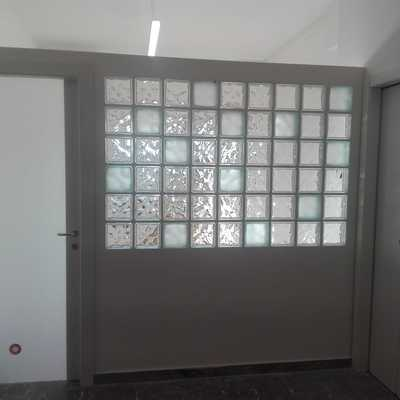 cartongesso e vetro cemento