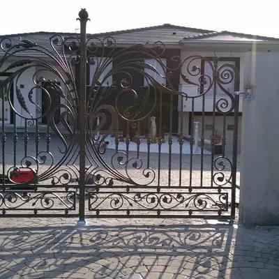 cancello in ferro artistico