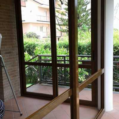 Scorrevoli in Alluminio taglio termico per Verande balconi terrazzo