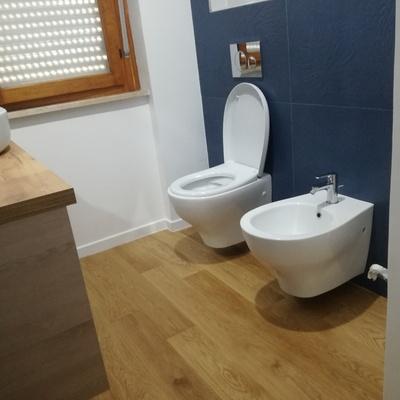 Parquet bagno e sanitari
