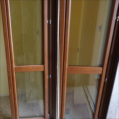 Pulizia vetri e cornice