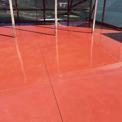 Pavimentazione Industriale di colore rossa