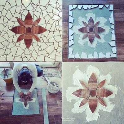 Realizzazione mosaico artigianale