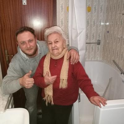 vasca per anziani