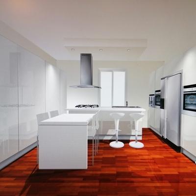 Cucina effetto camera