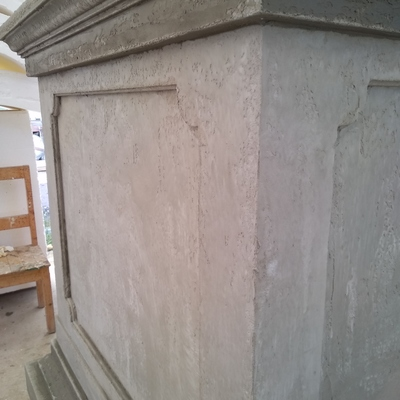 Riproduzione artigianale fondo pietra