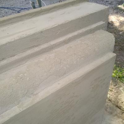 Dettagli riproduzione pietra