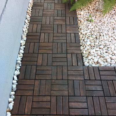 pavimento in legno per giardino