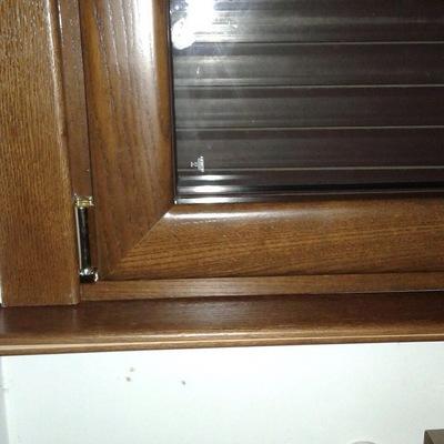 Angolo finestra in legno