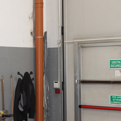 Tastiera ingresso magazzino (installazione industriale)