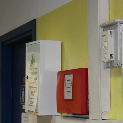 Centrale di allarme e centrale antincendio