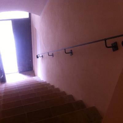 """Ristrutturazione scala interna in casale colonico sito in Assisi """"Pg"""""""