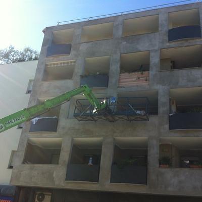 """Ristrutturazione e isolamento termico di facciate in palazzine Bastia Umbra """"PG"""""""