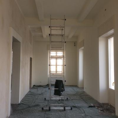 salone di Palazzo Verbania a Luino