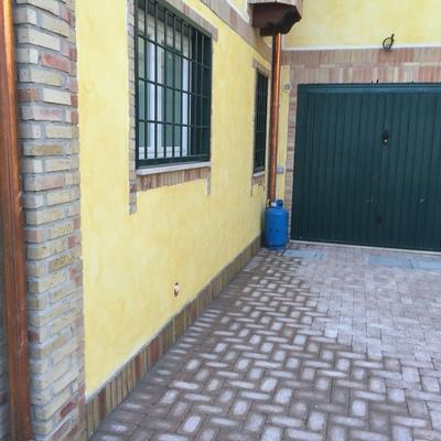 Ingresso garage pavimentazioni