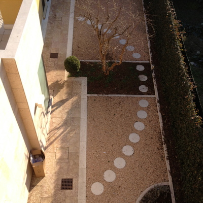 Giardino e pavimentazioni
