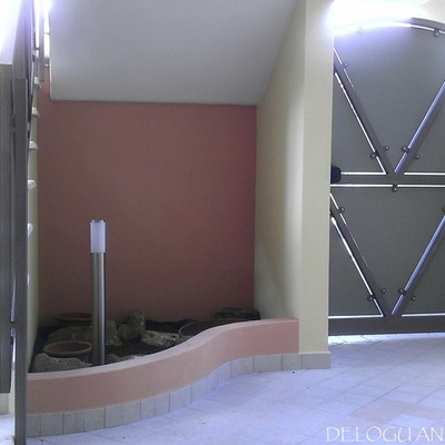 ingresso parte interna costruzione maracalagonis