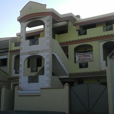 Facciata costruzione Maracalagonis