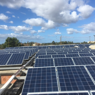 Impianto fotovoltaico 100 kw