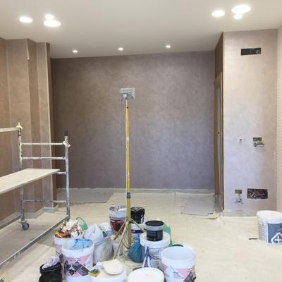 "interni appartamenti finitura fassa ""sfide d'arte"""