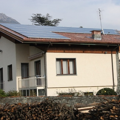Impianto fotovoltaico e pompa di calore
