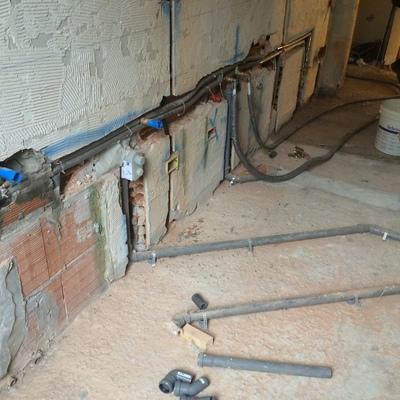 rifacimento impianto idrico bagno