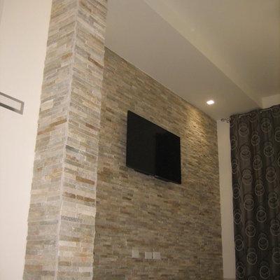 rivestimento parete in pietra naturale