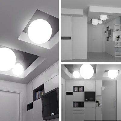 Il soffitto e la luce