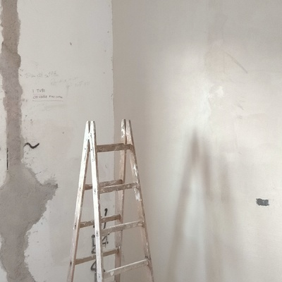 Rasatura pareti con rete
