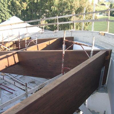 Progetto di una struttura in legno lamellare di grande luce