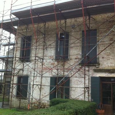 restauro villa antica DueCarrare PD