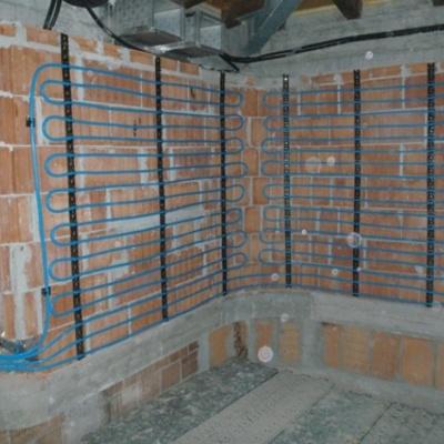 impianto a parete bassa temperatura