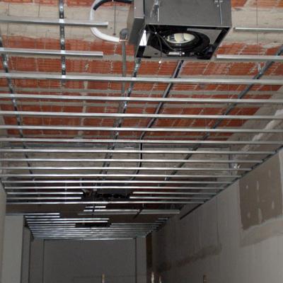 impianto di climatizzazione a cassetta